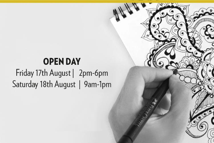 August Open Days and Young Designer Awards Announcement - Book today!