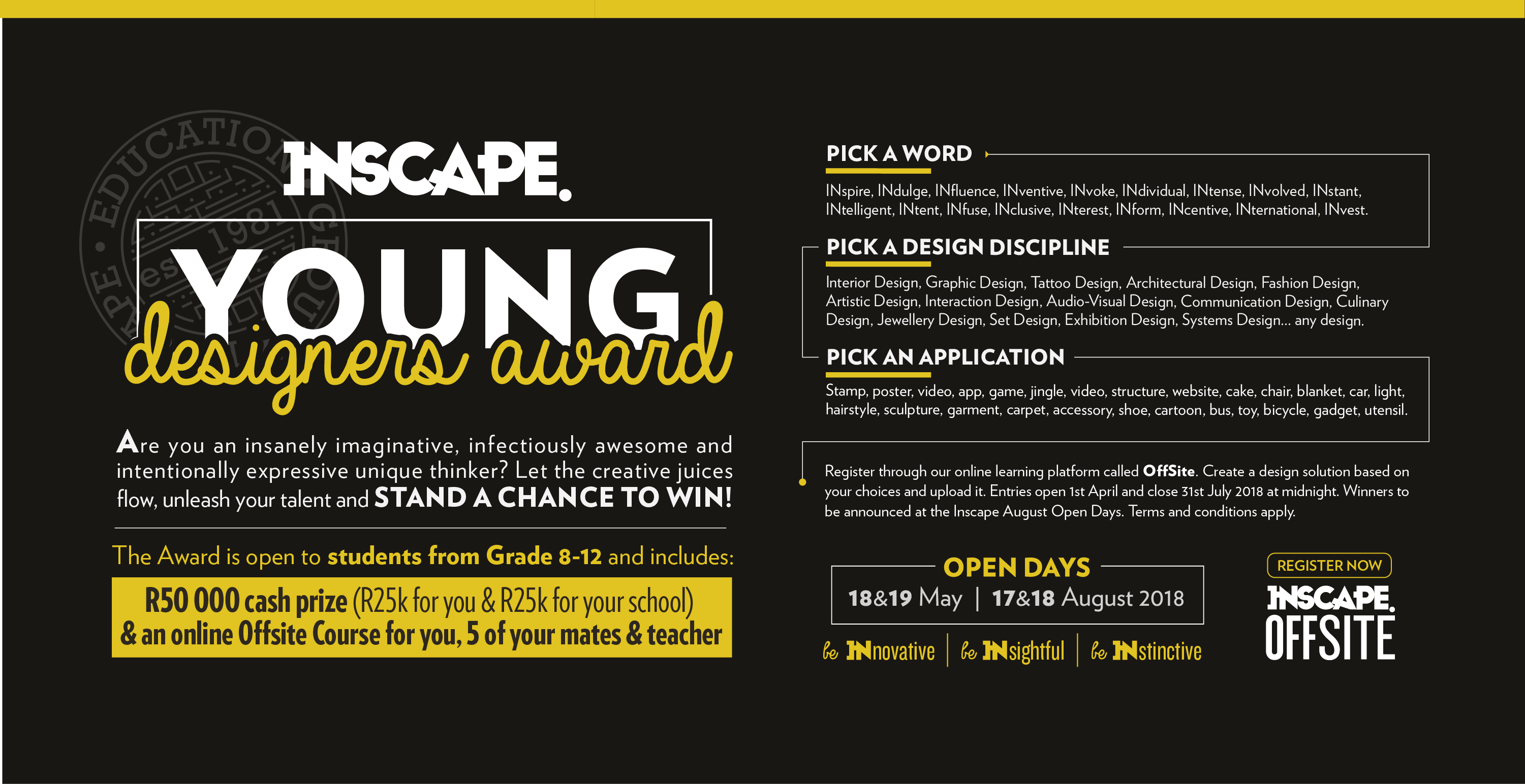 INscape Young Designers Award