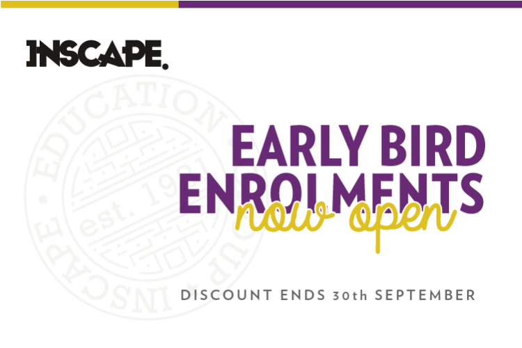 September 2018 - Early Bird Discount